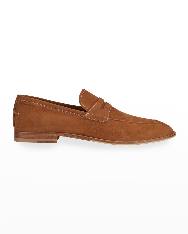 Men's Wedian Nubuck Penny Loafers