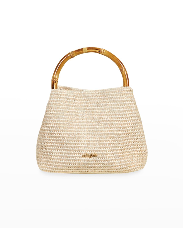 Solene Mini Bamboo Satchel Bag