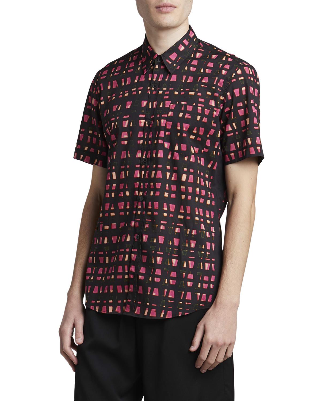 Men's Cheneys Trapezium Sport Shirt