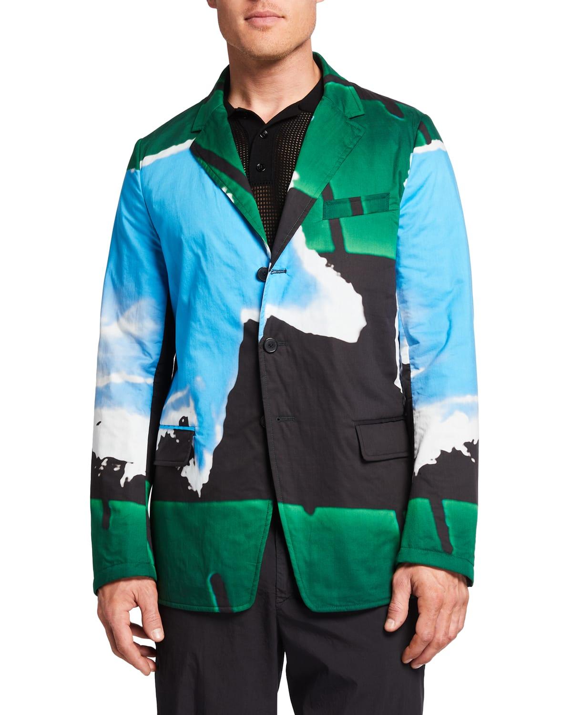 Men's Bilbaos Color Splash Jacket