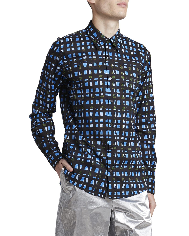 Men's Curle Trapezium Sport Shirt