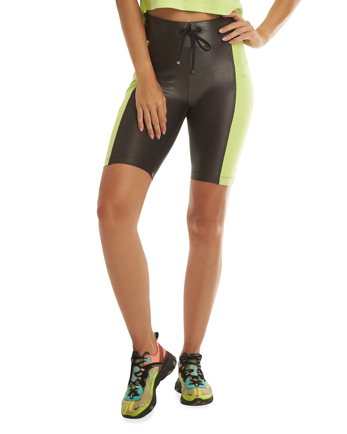 Essential High-Rise Infinity Shorts