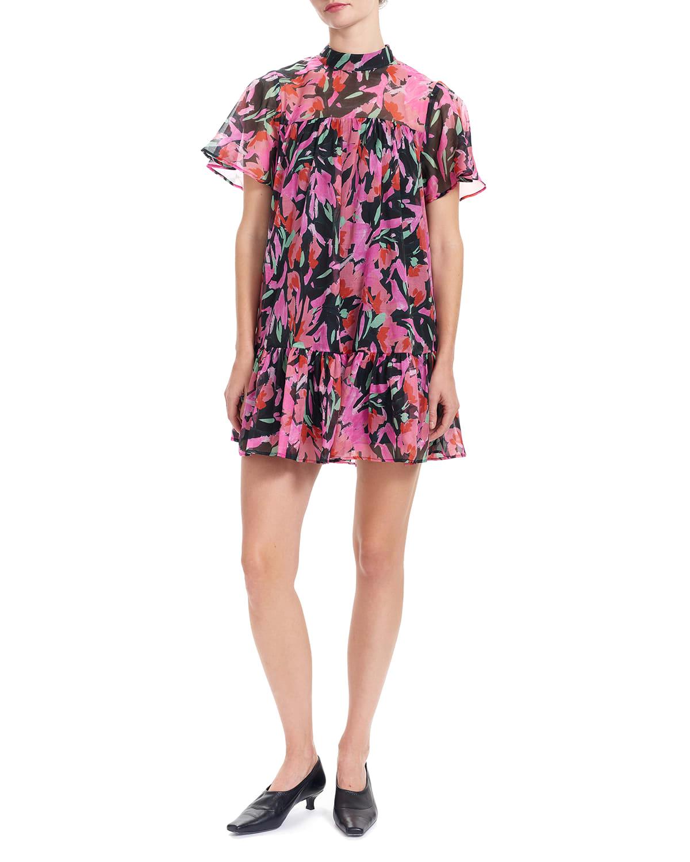 Tammy Mini Floral Babydoll Dress