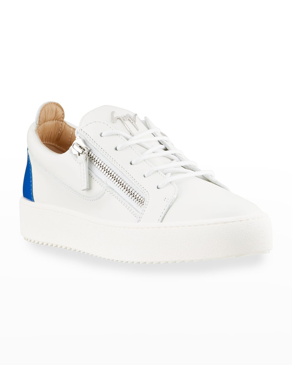 Men's May London Patent Leather Low-Top Sneakers