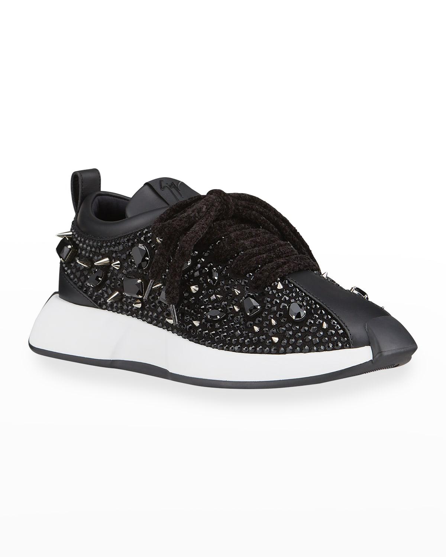 Men's Omnia Embellished Trainer Sneakers