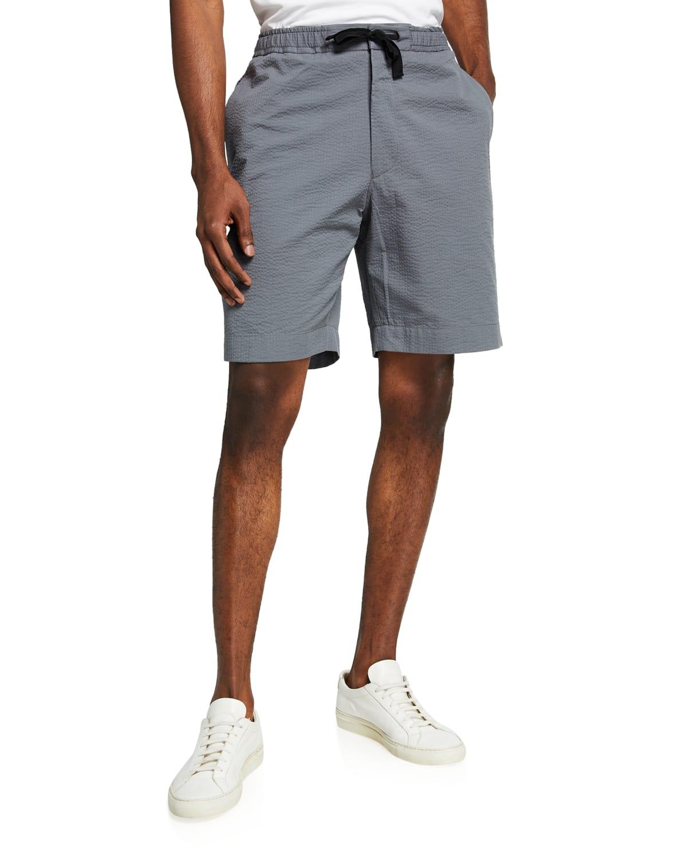 Men's Phil Seersucker Drawstring Shorts