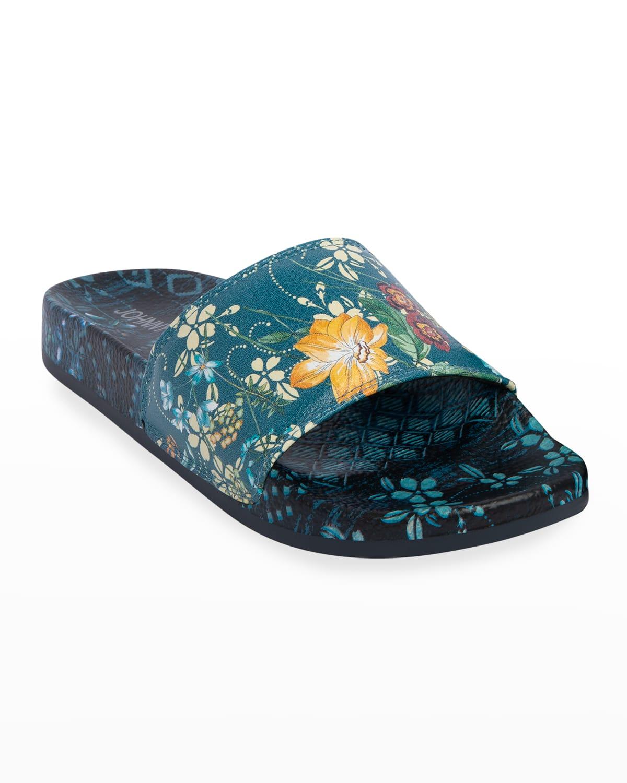 Ciaga Floral Pool Slide Sandals
