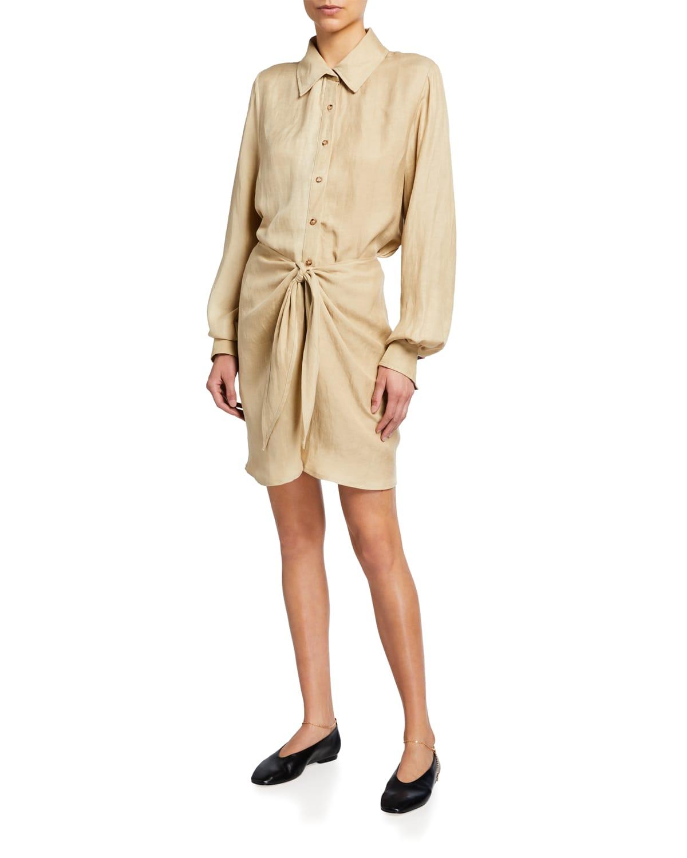 The L.A. Button-Down Wrap Dress