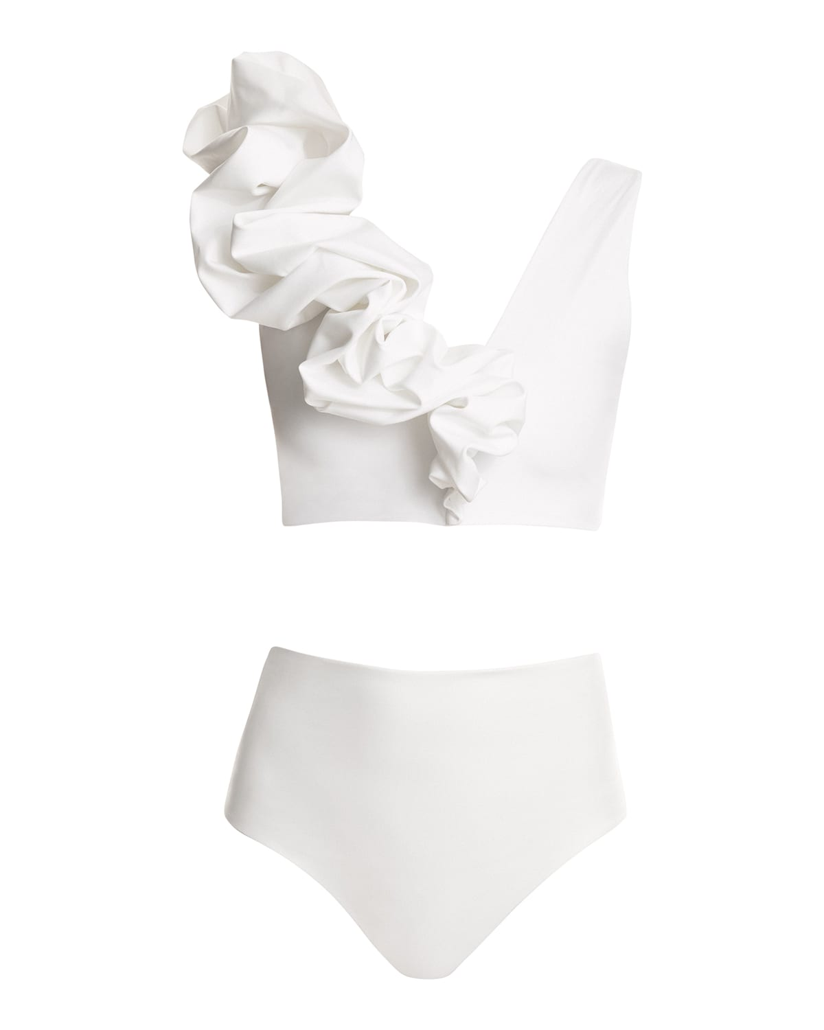 Rosa Puff Two-Piece Swimsuit