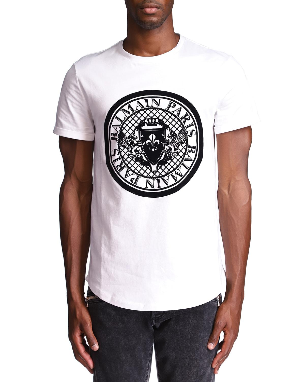 Men's Coin-Flock T-Shirt