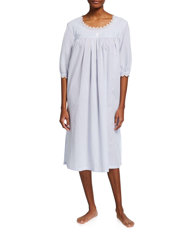 Kreta 2 Half-Sleeve Nightgown