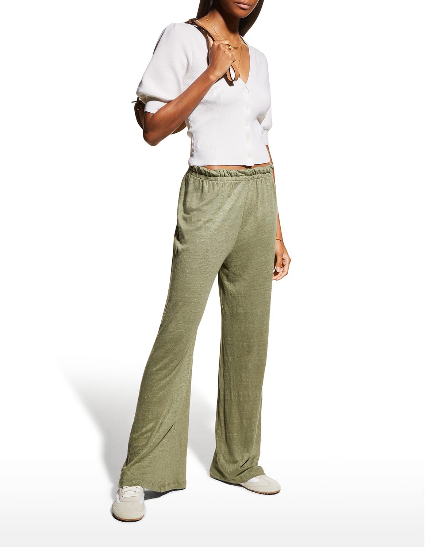 Soft Leg Linen Pants
