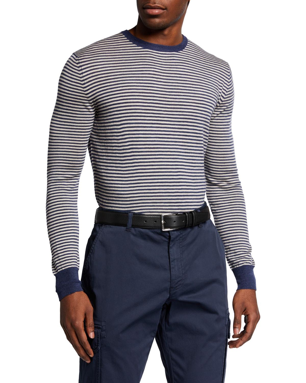 Men's Micro-Stripe T-Shirt