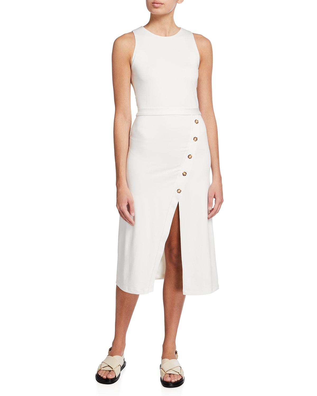 Cambell Jersey Sheath Dress