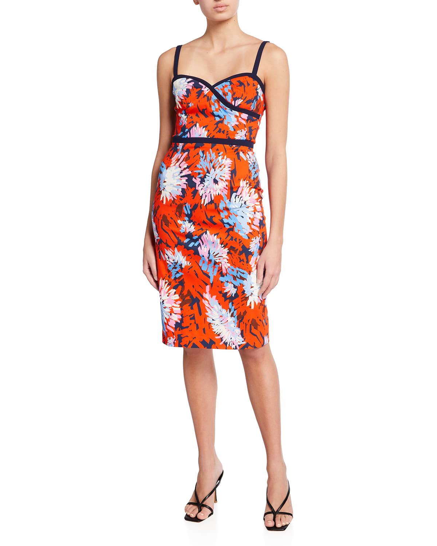 Daria Sweetheart Sheath Dress