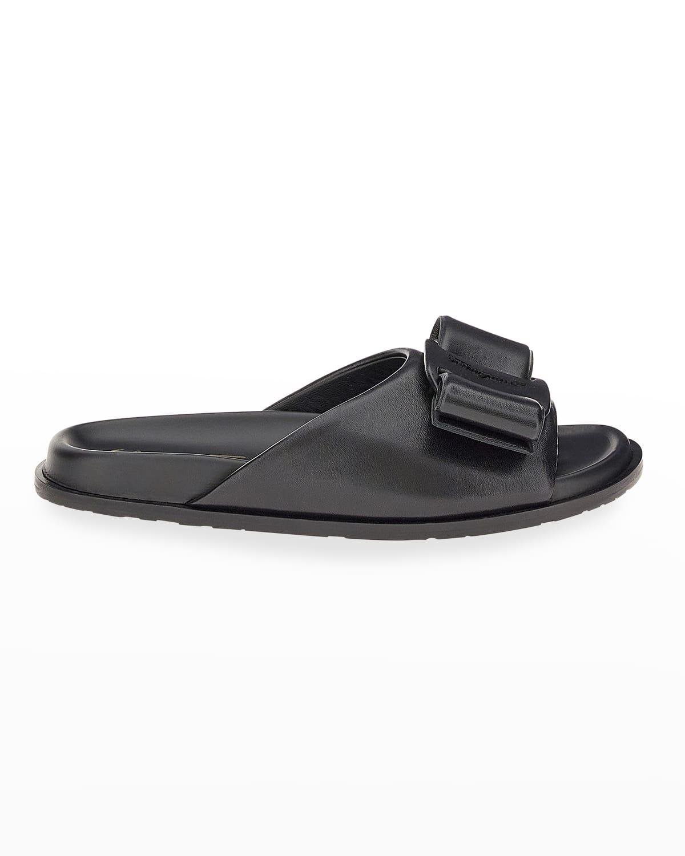 Virgil Vara Bow Sporty Slide Sandals
