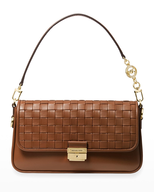 Bradshaw Woven Leather Shoulder Bag