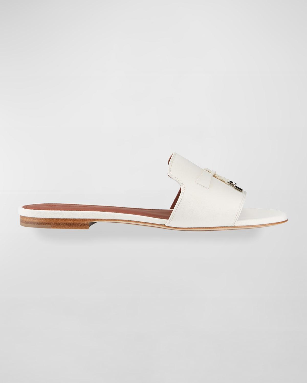 Summer Suede Tassel Slipper Sandals