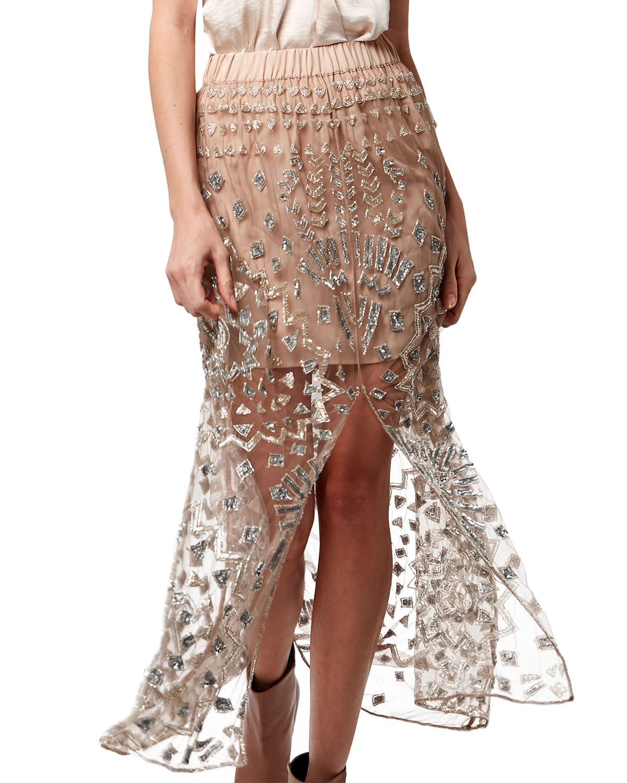 Astrid Beaded Skirt