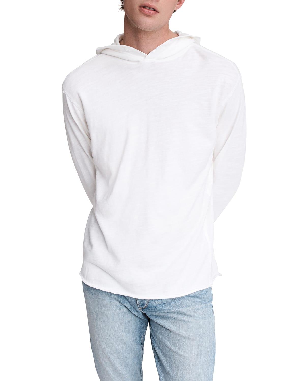 Men's Flame Jersey Pullover Hoodie