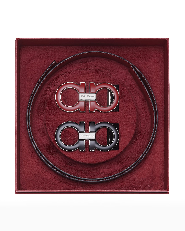 Men's Gancini Reversible Leather Belt