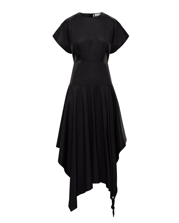 1 Moncler JW Anderson Solid Cotton Handkerchief Dress