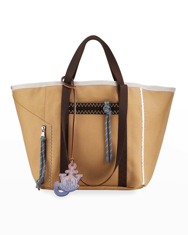 JWA Top-Handle Nylon Logo Tote Bag