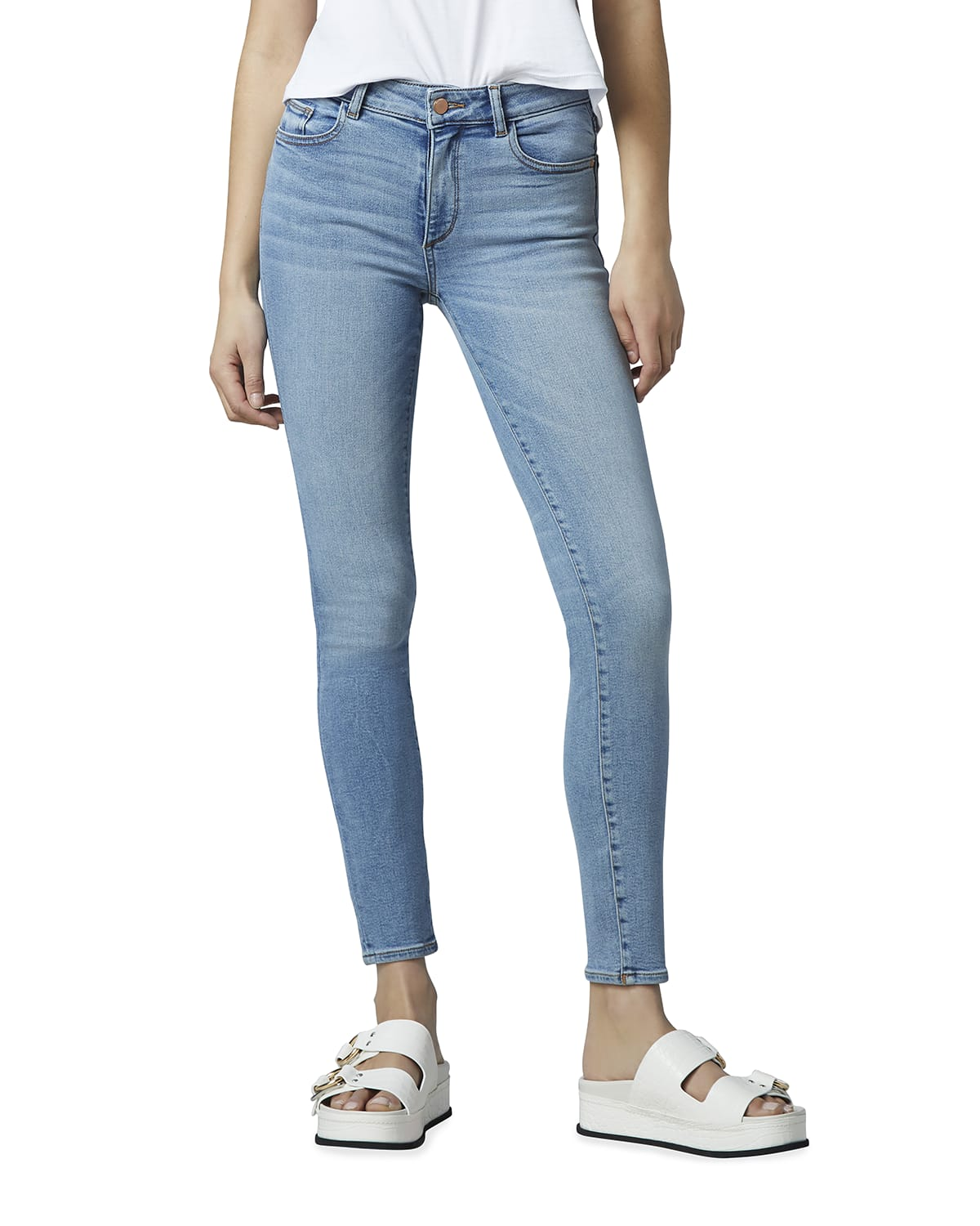 Florence Mid-Rise Ankle Skinny
