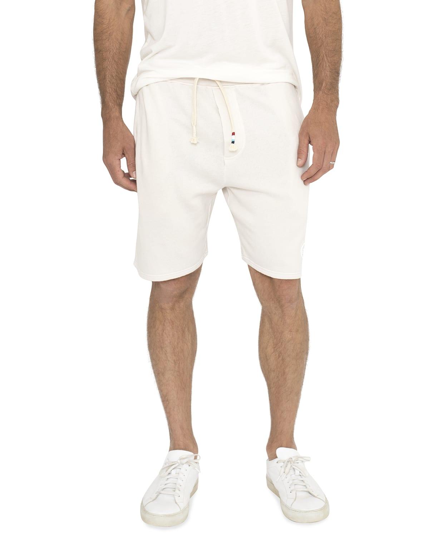 Men's Waves Solid Drawstring Shorts