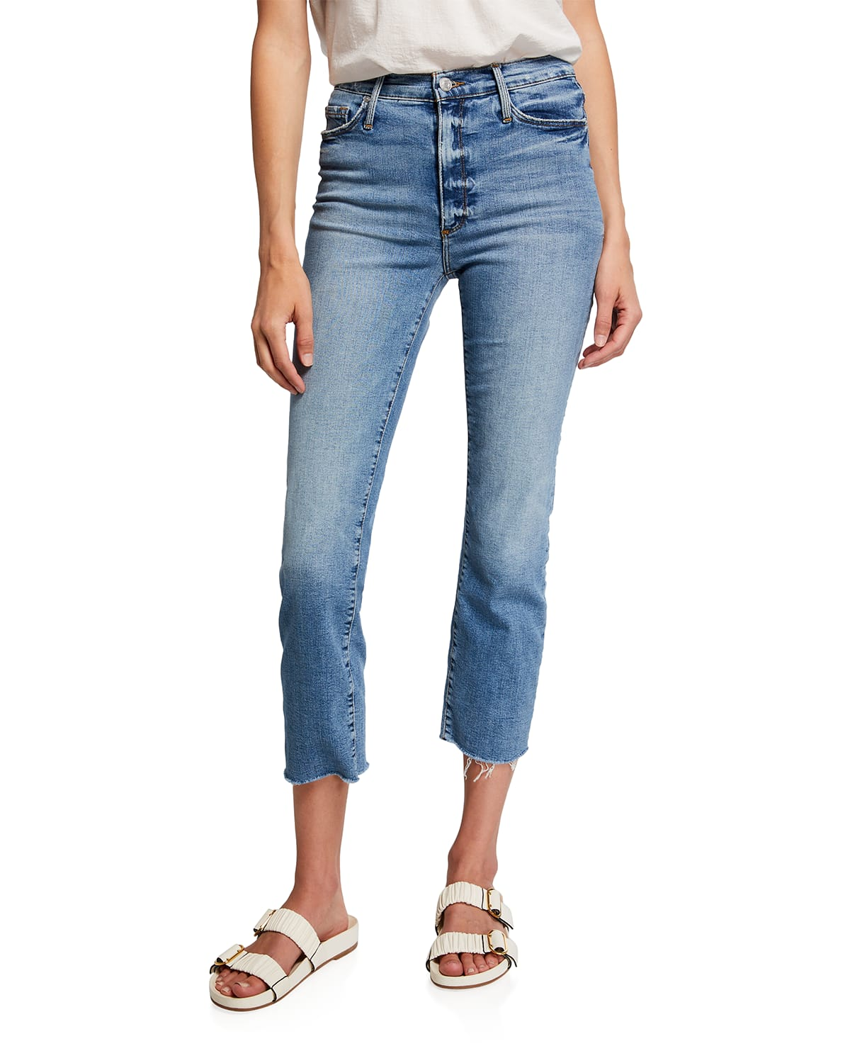 Brooke Straight Cropped Jeans