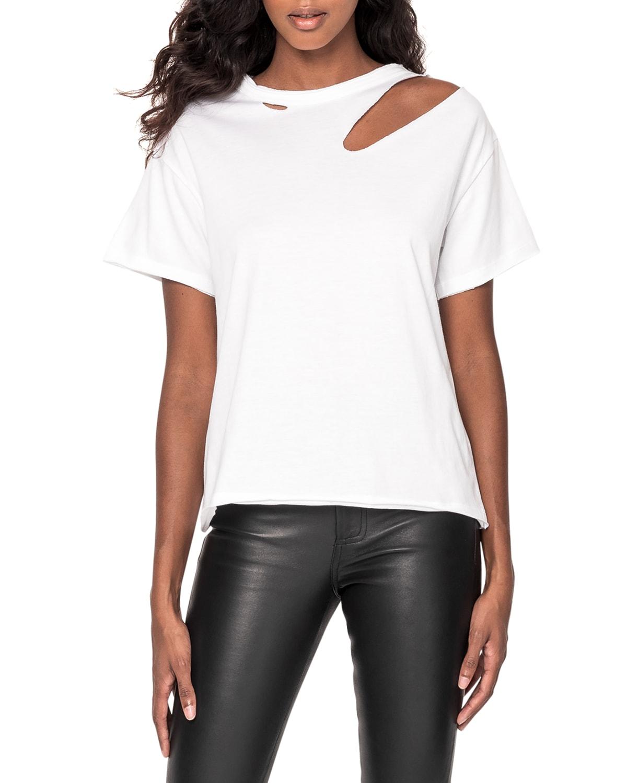 Zasha Distressed T-shirt