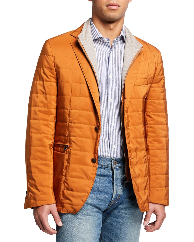 Men's Quilted Milestone Sport Jacket