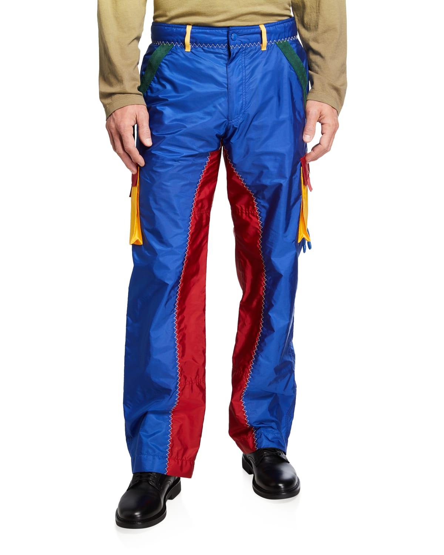 1 Moncler JW Anderson Multicolor Nylon Cargo Pants