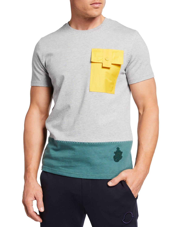 1 Moncler JW Anderson Colorblock Pocket T-Shirt