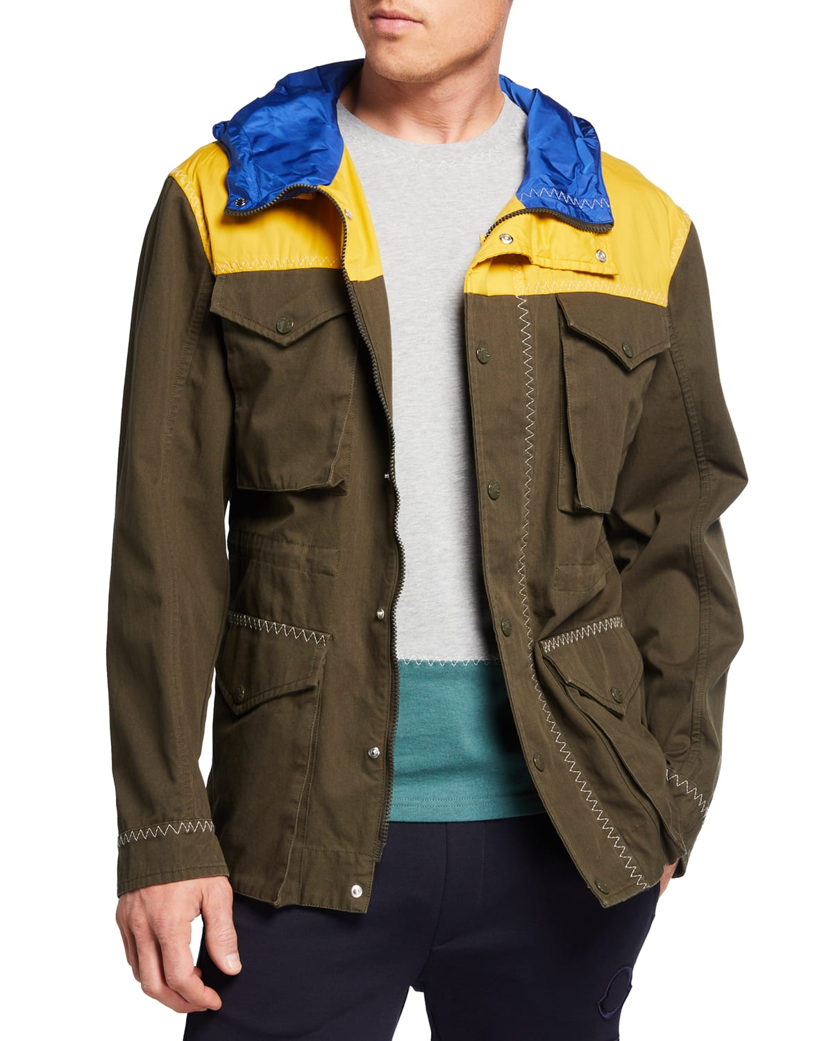 1 Moncler JW Anderson Leyton Field Jacket with Hood