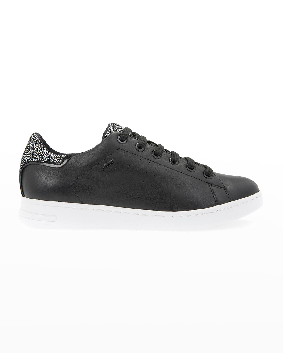 Jaysen Mixed Leather Low-Top Sneakers