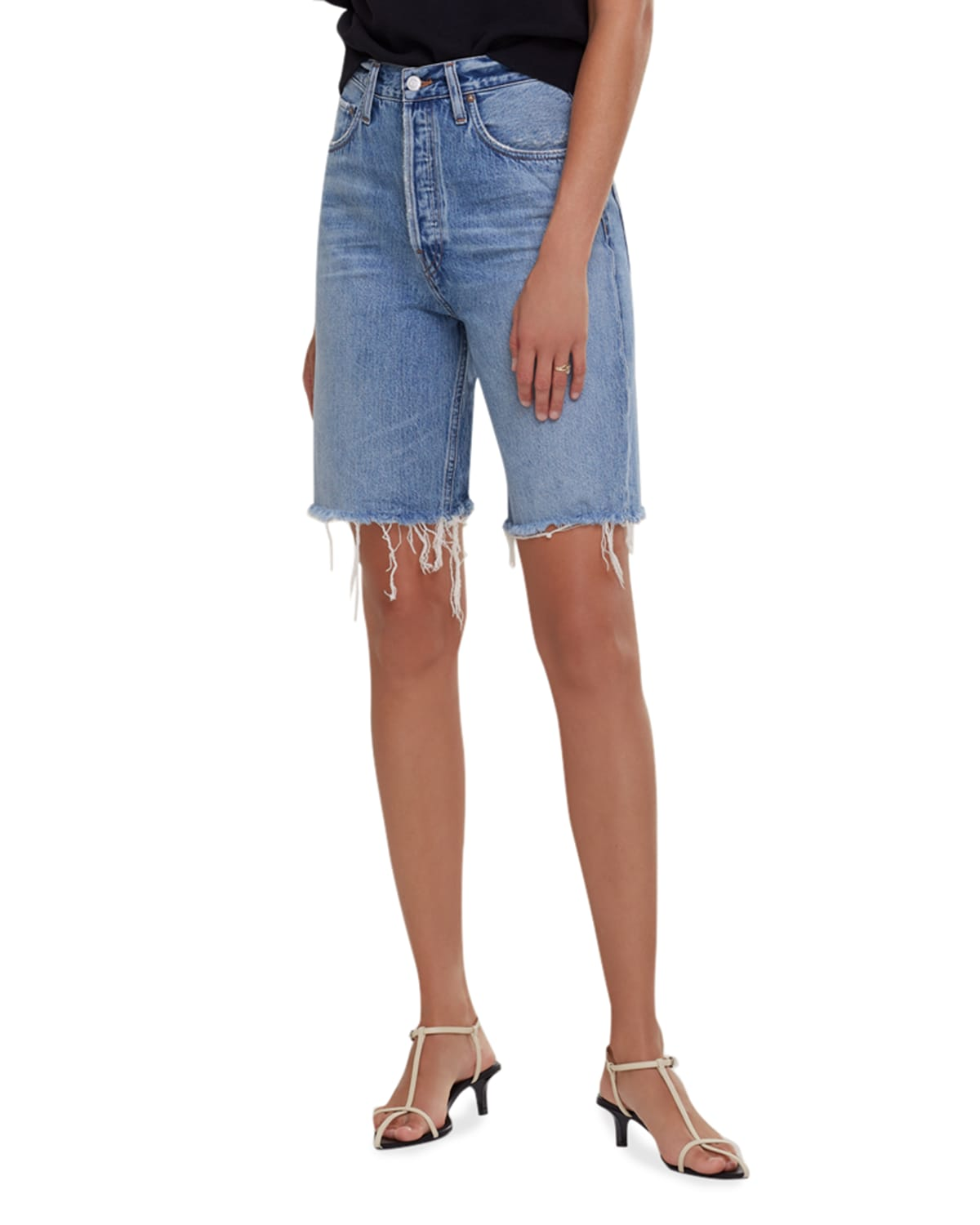90s Pinched-Waist Shorts
