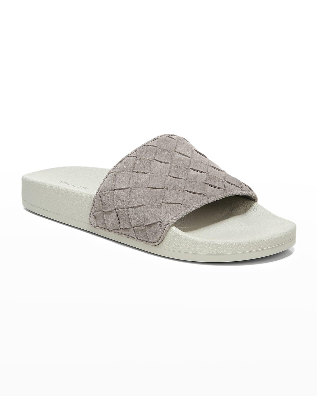 Men's Watley 2 Woven Suede Slide Sandals