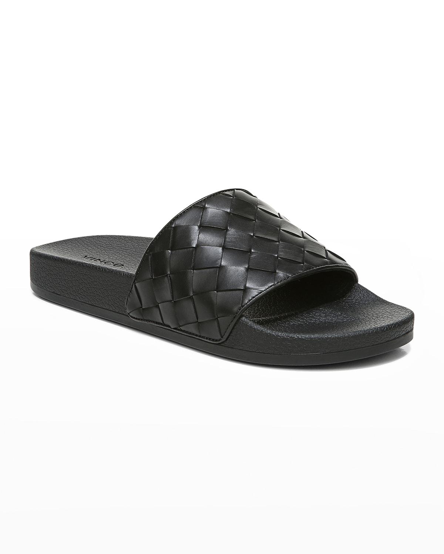 Men's Watley 2 Woven Leather Slide Sandals