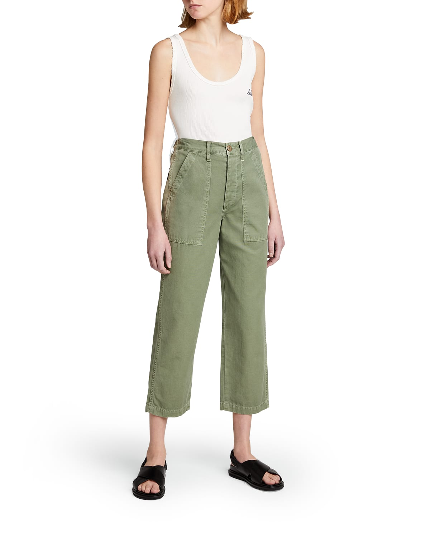 Ranger High-Rise Cropped Pants