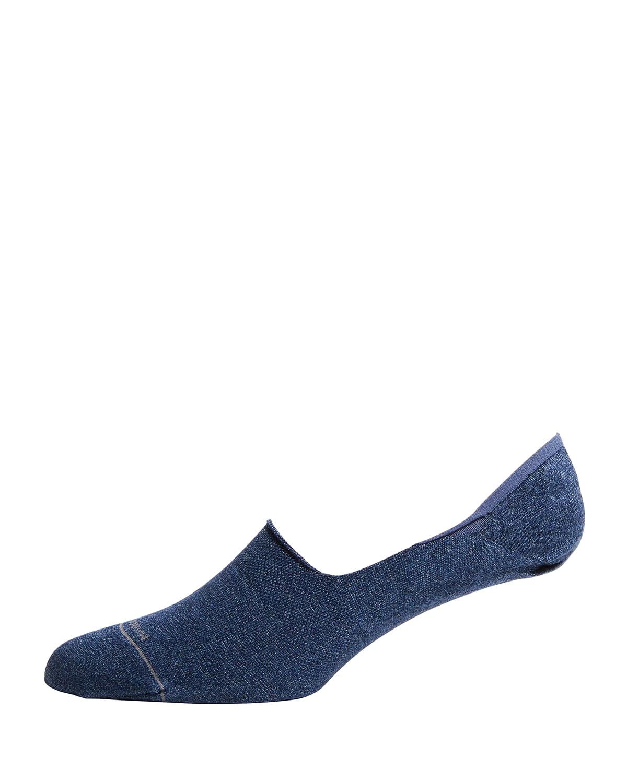 Men's No-Show Logo Socks