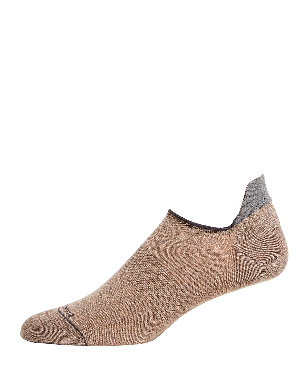 Men's Two-Tone Ankle Socks