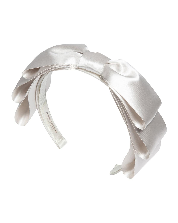 Katya Satin Bow Headband