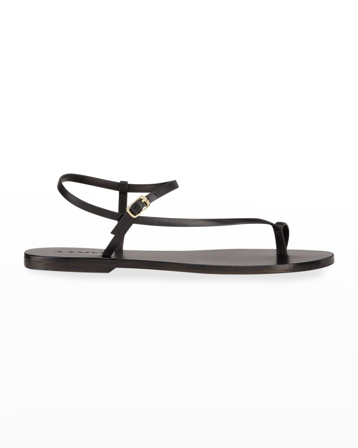 Lily Leather Thong Sandals