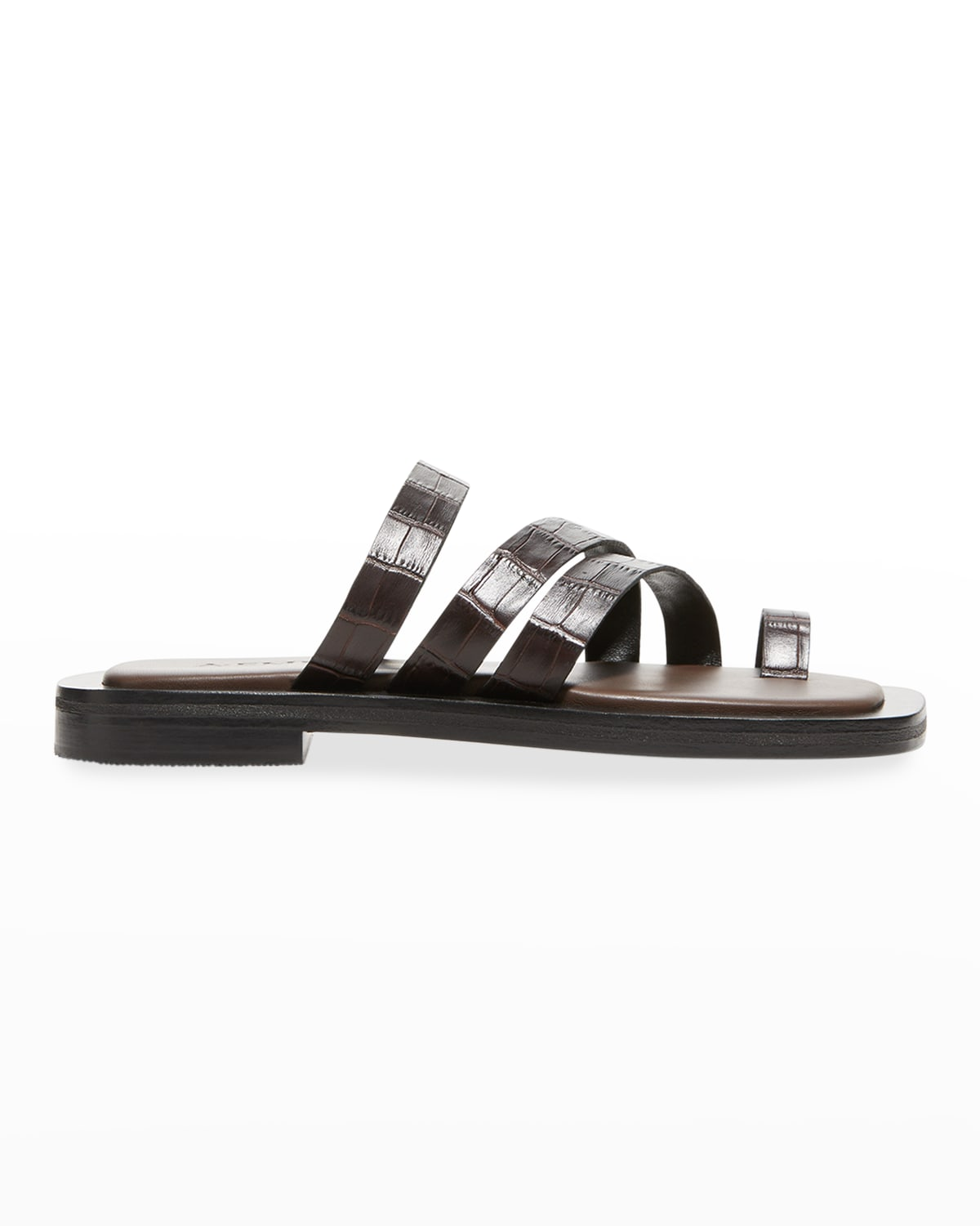 Liam Leather Thong Sandals