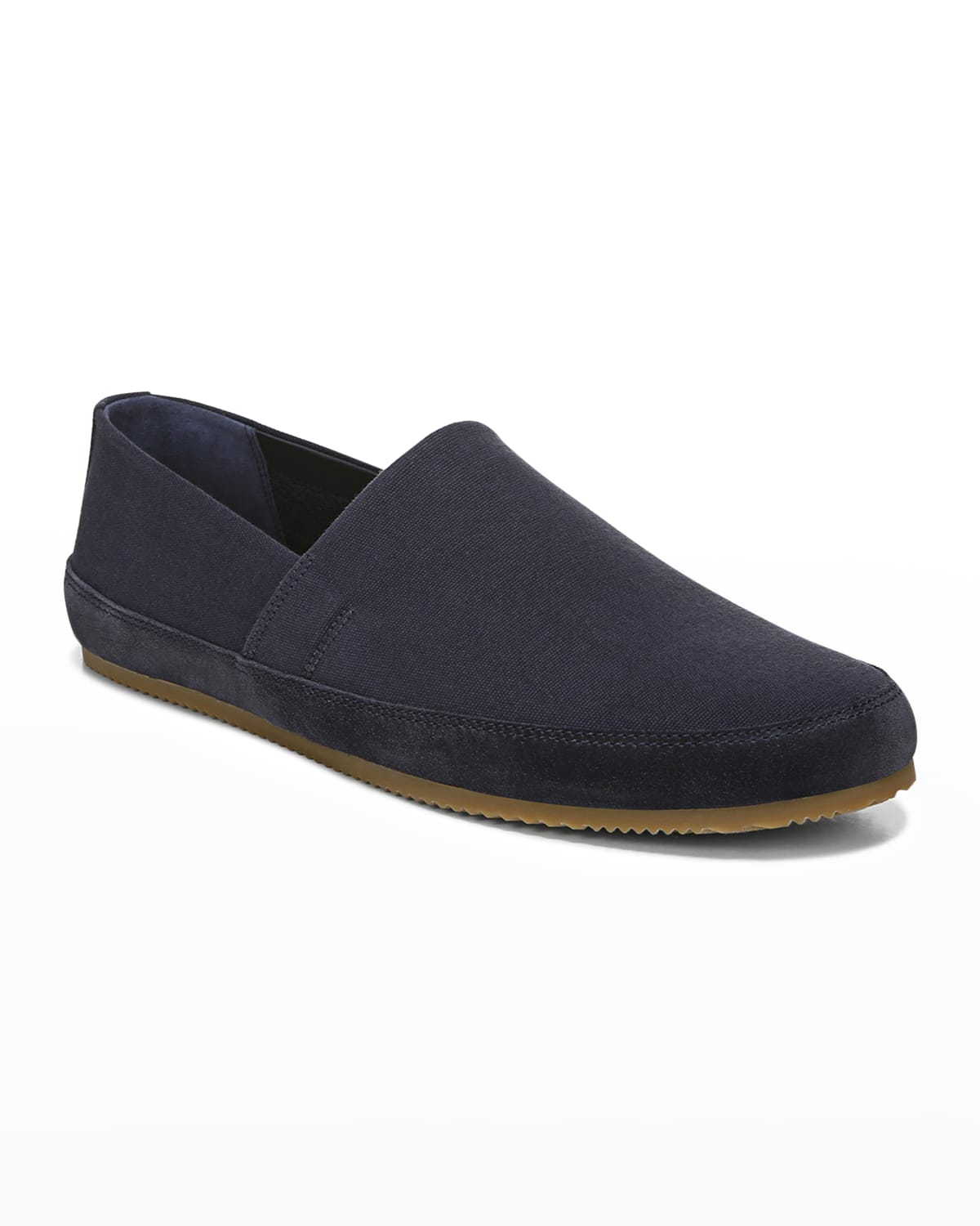 Men's Atlee Canvas & Suede Slip-On Shoes