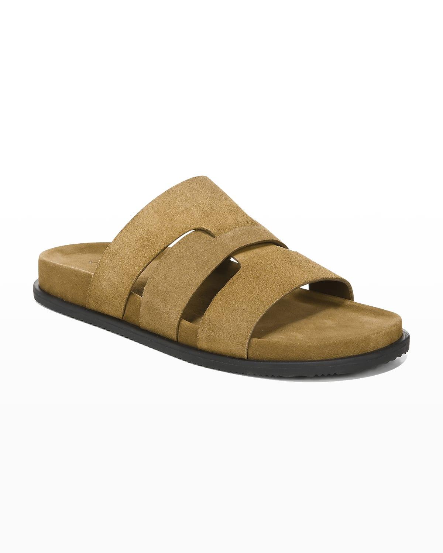 Men's Dorsey Caged Suede Sandals
