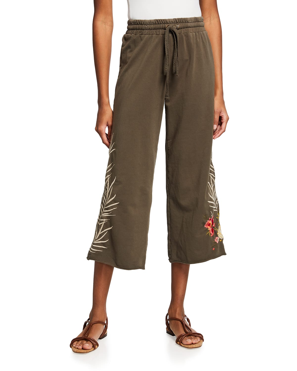 Nohea French Terry Cropped Pants
