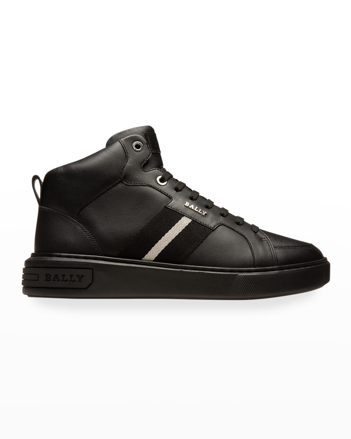 Men's Myles Trainspotting Leather High-Top Sneakers