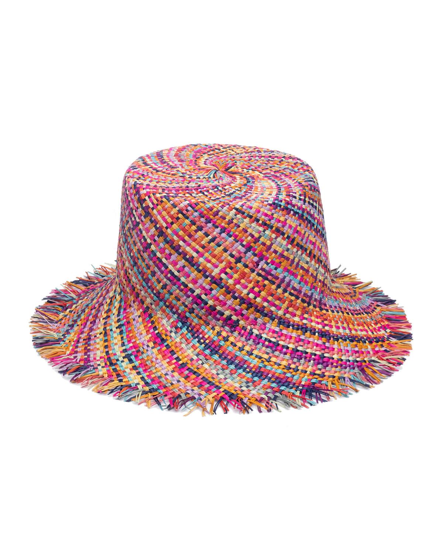 Ramona Straw Bucket Hat